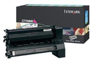 Lexmark toner magenta (zwrotny, 6000str, C770 / C772 / X772e)