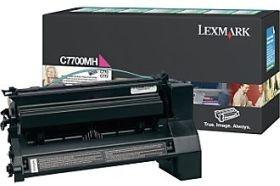 Lexmark toner magenta (zwrotny, 10000str, C770 / C772 / X772e)