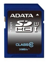 A-Data karta pamięci 8GB SDHC UHS-1 Class 10 (do 30MB/s) PHOTO/VIDEO FULL HD