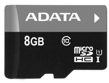 A-Data karta pamięci micro SDHC 8GB Class 10 UHS-I (Video Full HD)