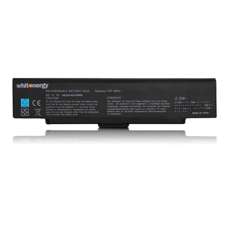 Whitenergy bateria Sony Vaio BPS2 / BPL2 (11.1V, Li-Ion, 4400mAh, czarna)