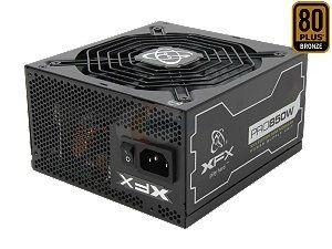 XFX XXX 850W Modular (80+ Bronze, 4xPEG, 135mm, Single Rail)