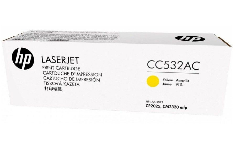 HP Toner HP 304A yellow | 2800str | Color LaserJet CP2025/CM2320 | contract