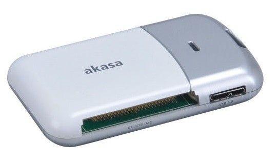 Akasa Czytnik kart USB 3.0 AK-CR-05U3SL