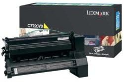 Lexmark toner yellow (15000str, C772 / X772e)