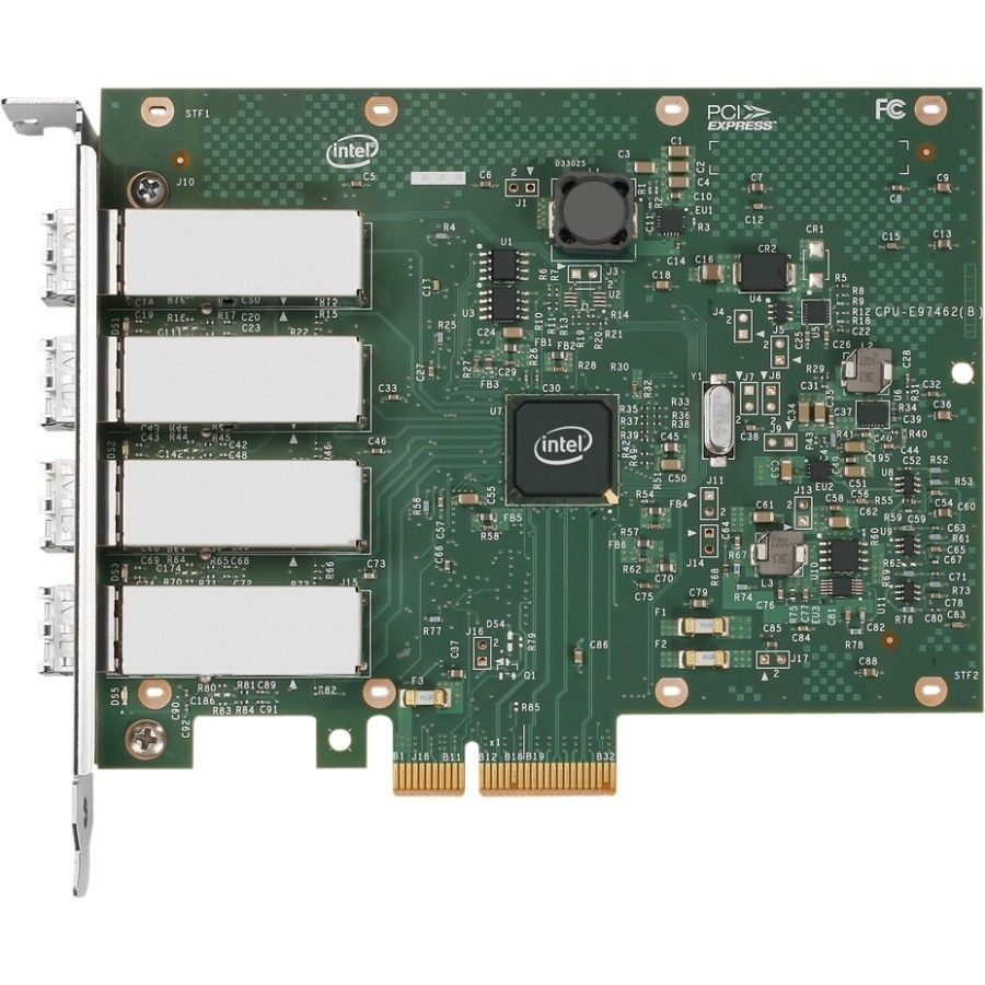 Intel Karta sieciowa serwerowa I350-F4 4xLC I350F4 retail