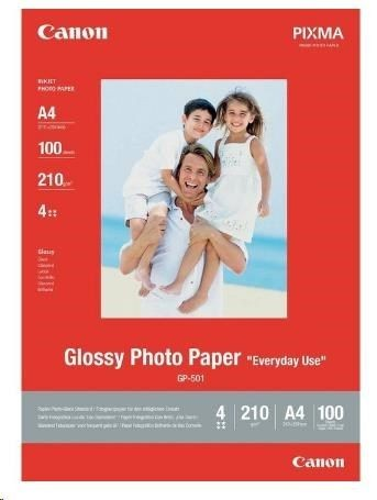 Canon Papier GP501 Photo Paper Glossy | 170g | 10x15cm | 100ark