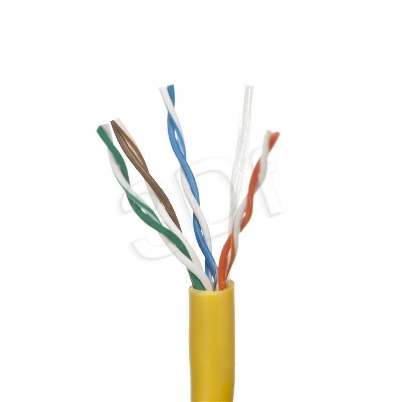 A-LAN Kabel UTP Alantec KIU5LINKA100Y ( kat.5e PVC 100m linka żółty )