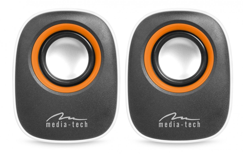 Media-Tech IBO - Głośniki stereofoniczne zasilane z portu USB, RMS 6W