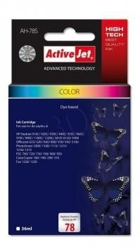 ActiveJet Tusz ActiveJet AH-78S | color | 36 ml | HP 78 C6578D