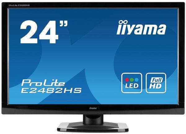 iiyama MONITOR 23.6'' E2482HS DVI/HDMI/głośniki /IIYAMA