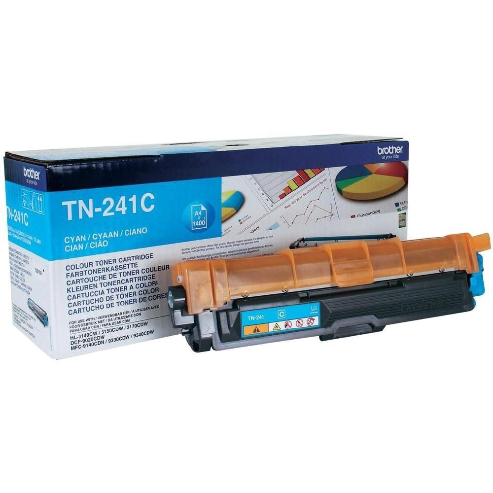 Brother Toner TN241 cyan | 1 400str | HL-3140CW / 3150 / 3170 / DCP-9020CDW