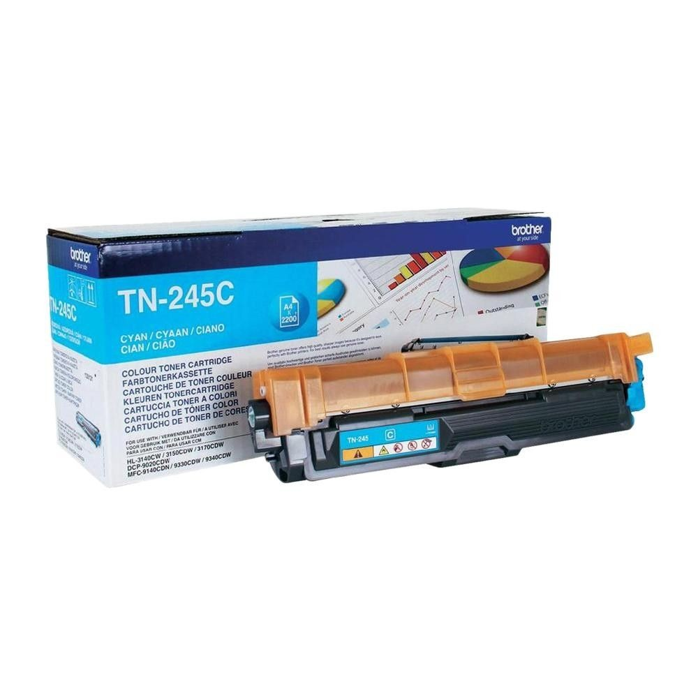 Brother Toner TN245 cyan | 2200str | HL-3140CW / 3150 / 3170 / DCP-9020 / MFC-91