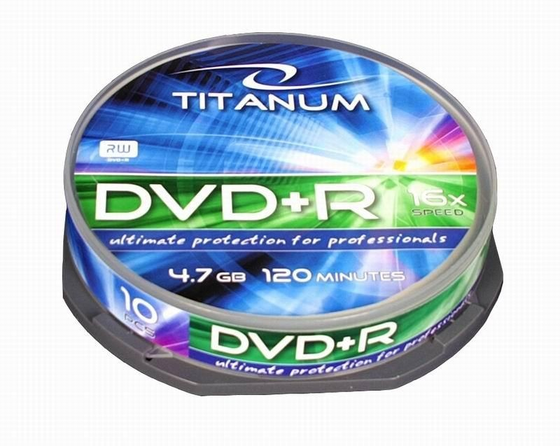 Esperanza DVD+R TITANUM [ cake box 10 | 4.7GB | 16x ]