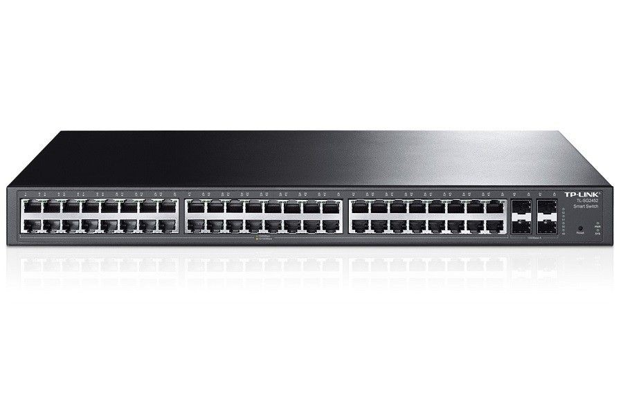 TP-Link SWITCH T1600G-52TS (TL-SG2452) 48X10/100MB Smart Switch / 4 Combo SFP Slots