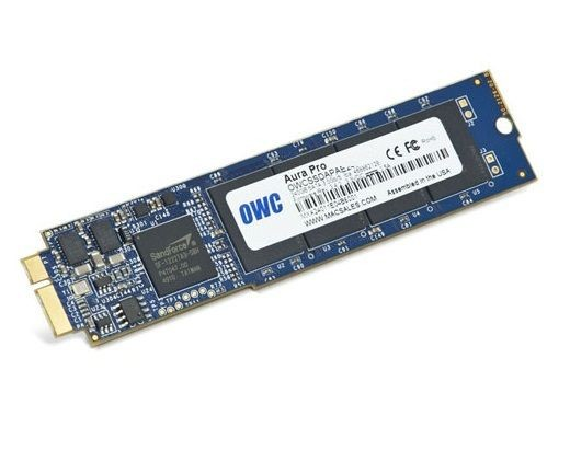 OWC Aura Pro SSD 120GB Macbook Air 2010/2011 (285-500MB/s, 50k IOPS) SYNC NAND