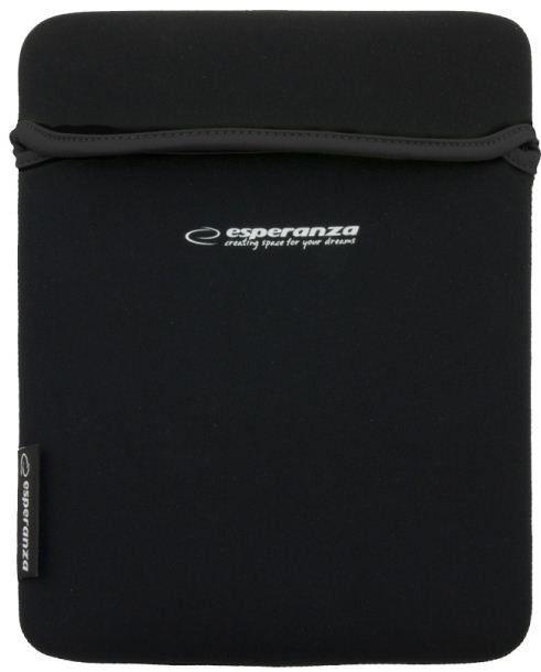 Esperanza Etui na Tablet 9,7'' 4:3 ET172K | Czarny / Czarny | GRUBY Neopren