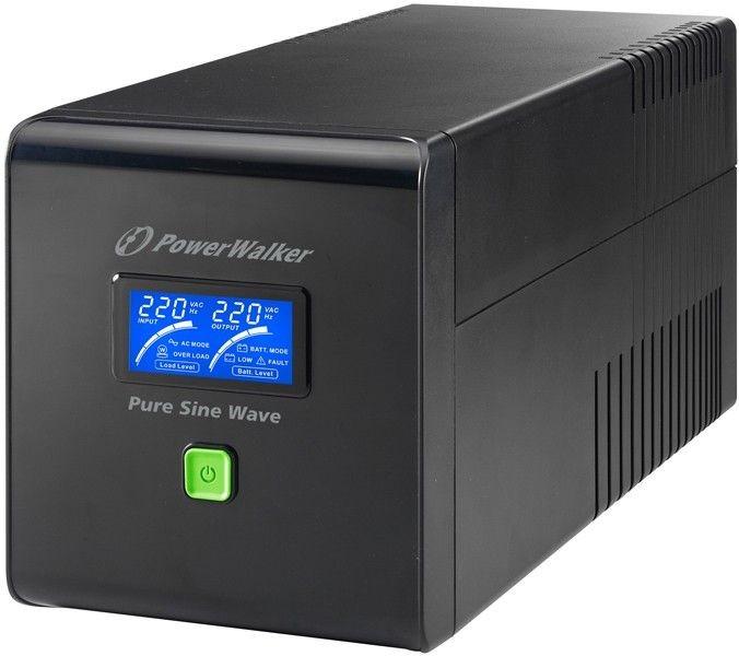 Power Walker UPS Line-Interactive 750VA 4x IEC C13, PURE SINE, RJ11/RJ45,USB,LCD