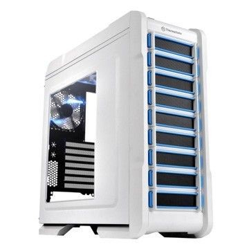 Thermaltake Chaser A31 Snow Edition USB 3.0 Window (2x120mm, LED), biała