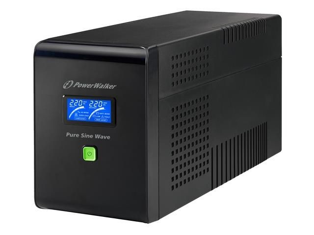 Power Walker UPS Line-Interactive 1500VA 6x IEC C13,PURE SINE, RJ11/RJ45,USB,LCD