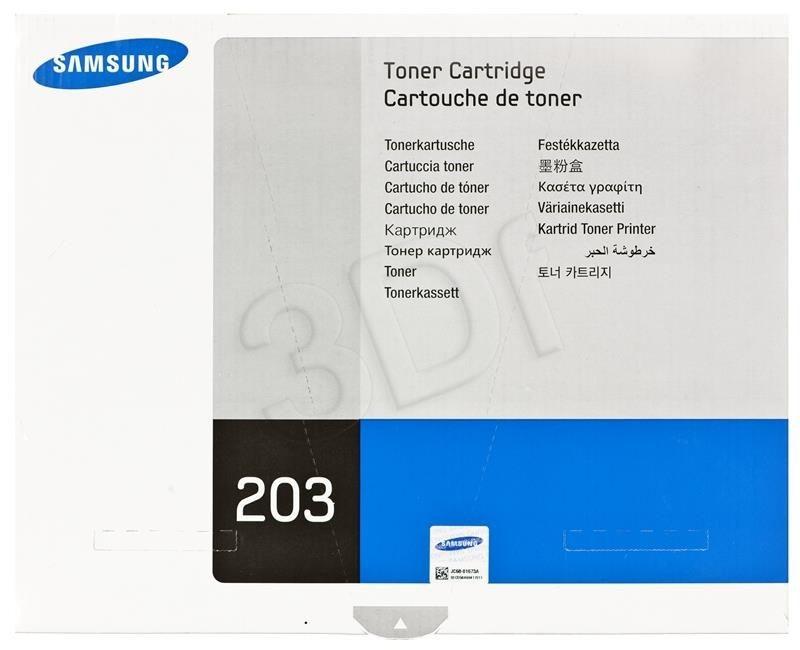 Samsung Toner black MLT-D203S | 3 000str | M3320/M3370/M3820/M3870/M4020/M4070