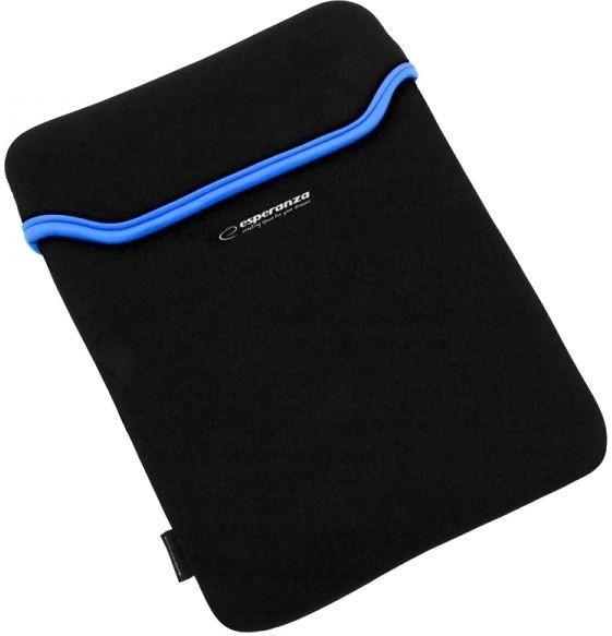 Esperanza Etui Etui na notebooka 15.6 cala Czarno-niebieski ET174B
