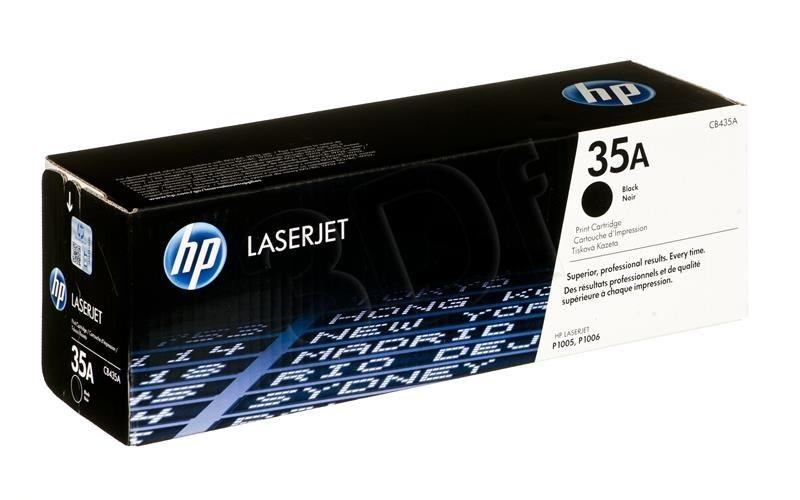 HP Toner HP HP35A (do drukarki Hewlett Packard oryginał CB435A 1500str. czarny)