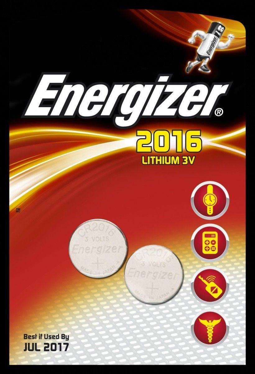Energizer Bateria CR2016 /2 szt. blister