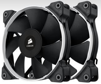 Corsair wentylator SP120 PWM High Static Pressure 120 mm 4 pin dual pack