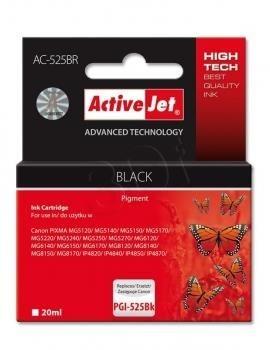 ActiveJet Tusz ActiveJet AC-525BR | Czarny | 20 ml | Canon PGI-525BK