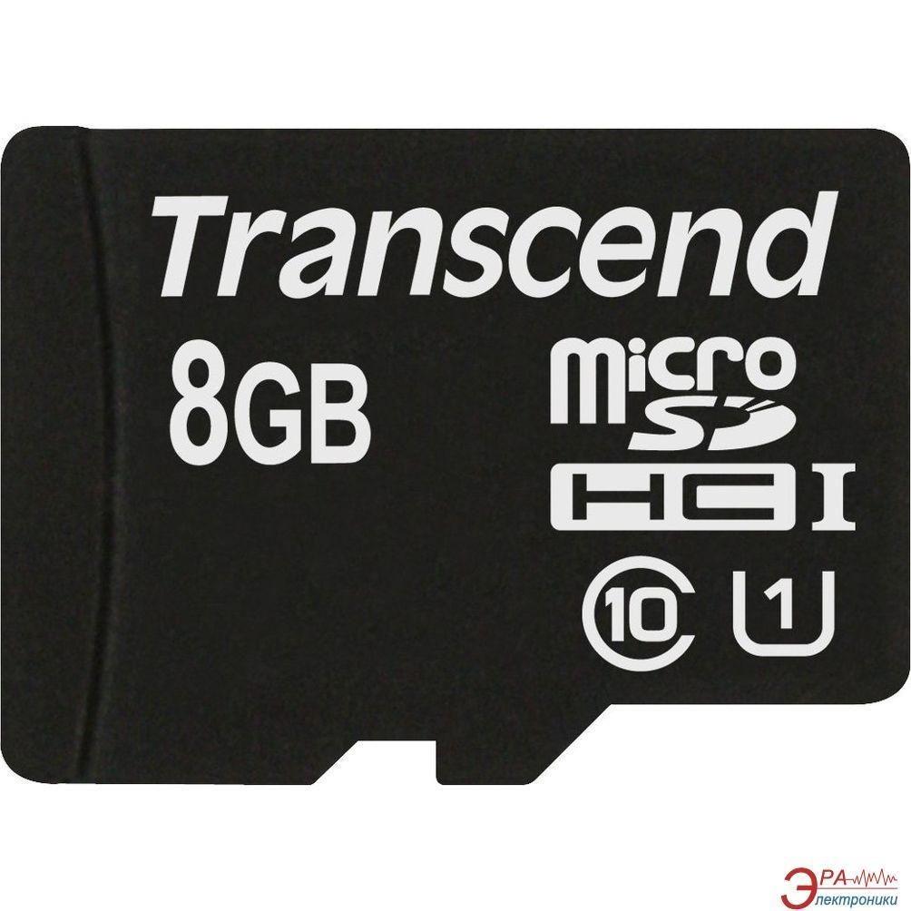 Transcend karta pamięci Micro SDHC 8GB UHS-I 600x PREMIUM