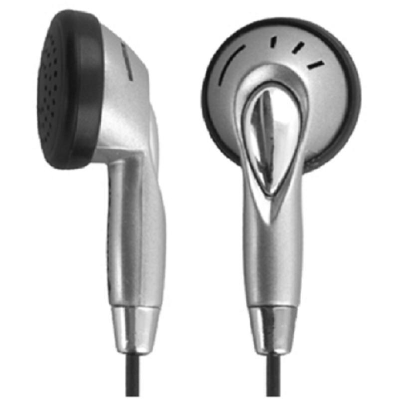 Titanum Słuchawki douszne TH101 stereo srebrno-czarne