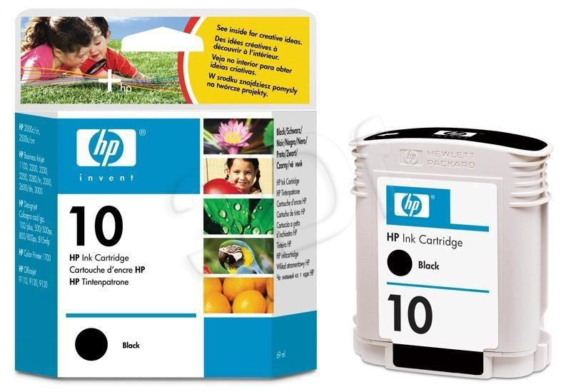 HP Tusz HP czarny HP 10B HP10B=C4844A 1400 str. 69 ml