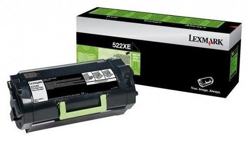 Lexmark Toner 522XE 45K bk corp MS711/811/812 52D2X0E