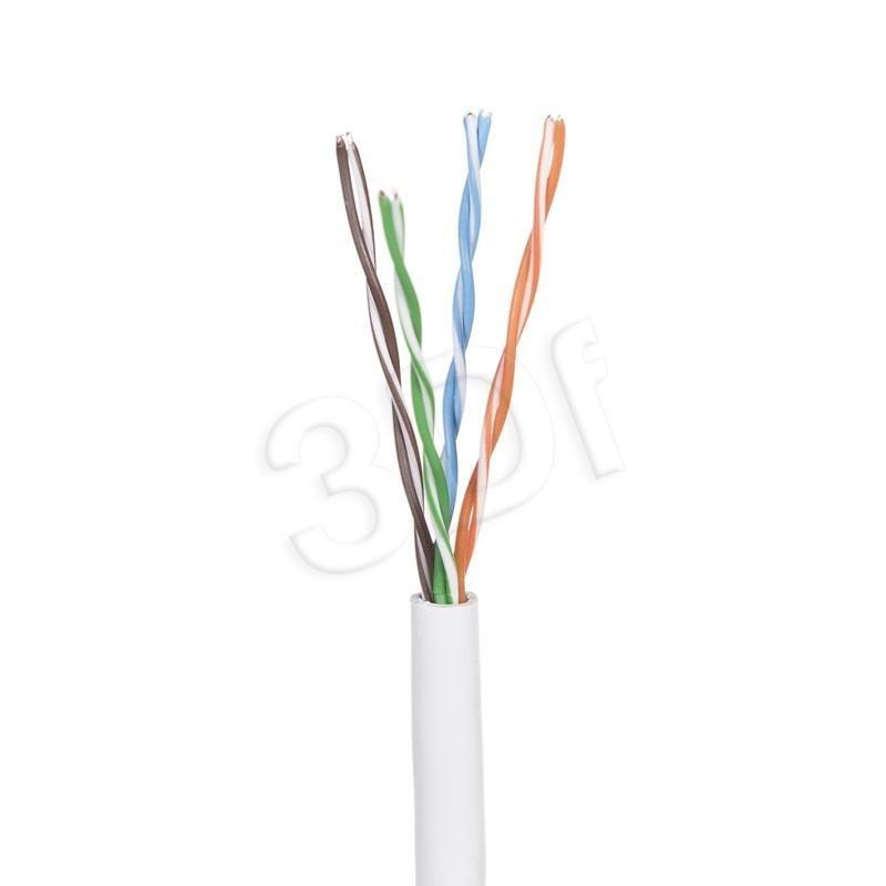Madex Kabel UTP ( kat.5e PVC 100m drut szary POWERNET )