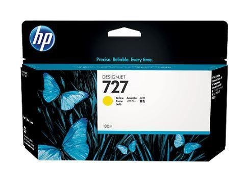 HP Tusz HP 727 yellow | 130 ml