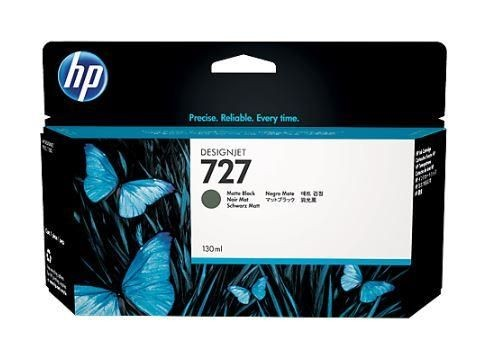HP Tusz HP 727 mate black | 130 ml