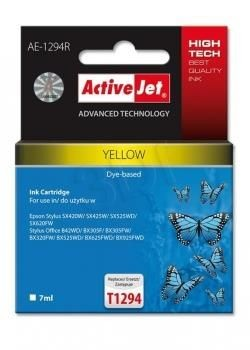 ActiveJet Tusz ActiveJet AE-1294R | Yellow | 7 ml | Epson T1294