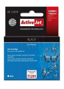 ActiveJet Tusz ActiveJet AE-1291R | Czarny | 9 ml | Epson T1291