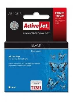 ActiveJet Tusz ActiveJet AE-1281R | Czarny | 9 ml | Epson T1281
