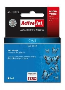 ActiveJet Tusz ActiveJet AE-1282R | Cyan | 7 ml | Epson T1282