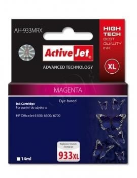 ActiveJet Tusz ActiveJet AH-933MRX | Magenta | 14 ml | HP 933XL CN055AE