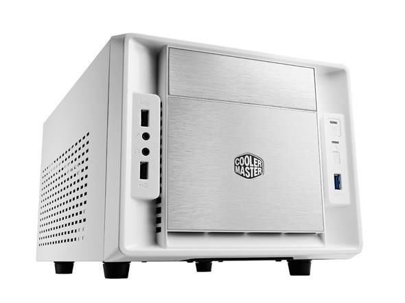 Cooler Master obudowa komputerowa Elite 120 Advance biała miniITX