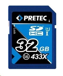 Pretec PRETEC Secure Digital SDHC class 16 (433x) - 32GB