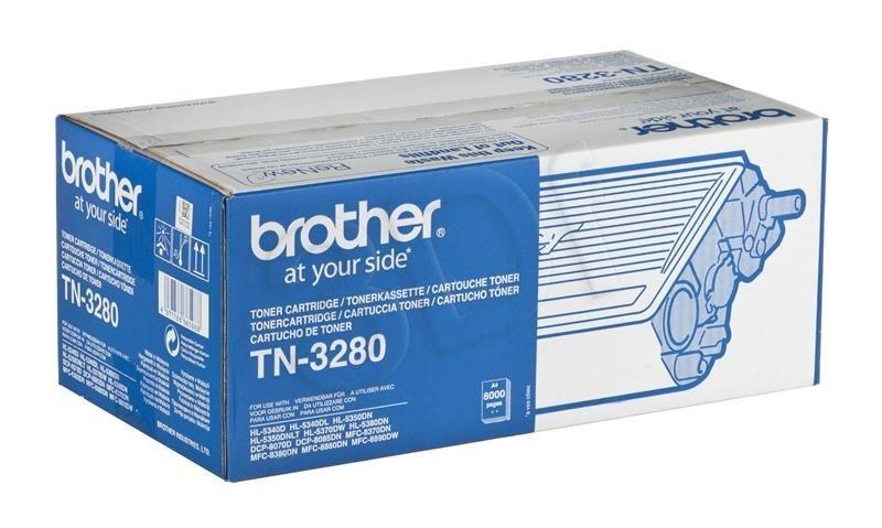 Brother Toner TN3280 (oryginał TN-3280; 8 000 stron; czarny)