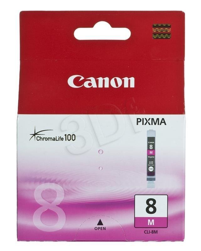 Canon Tusz Czerwony CLI-8M=CLI8M=0622B001 420 str.