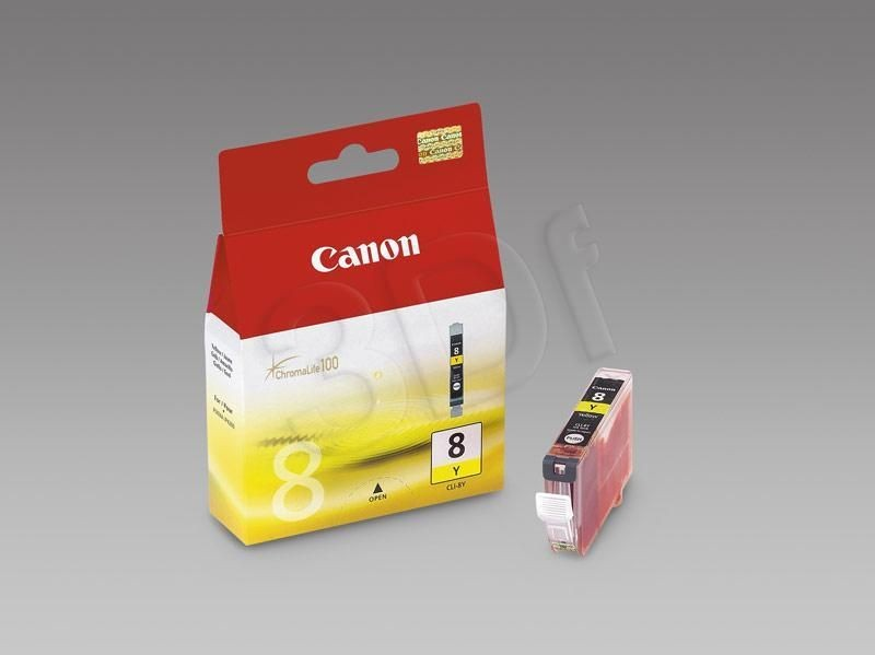 Canon Tusz Żółty CLI-8Y=CLI8Y=0623B001 420 str.