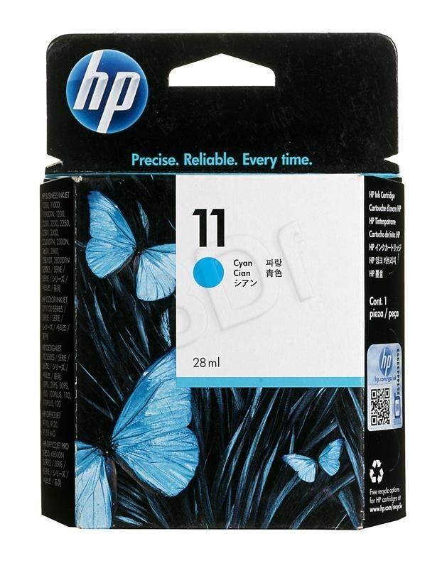 HP Tusz HP C4836A (oryginał HP11C HP 11C; 28 ml; niebieski)