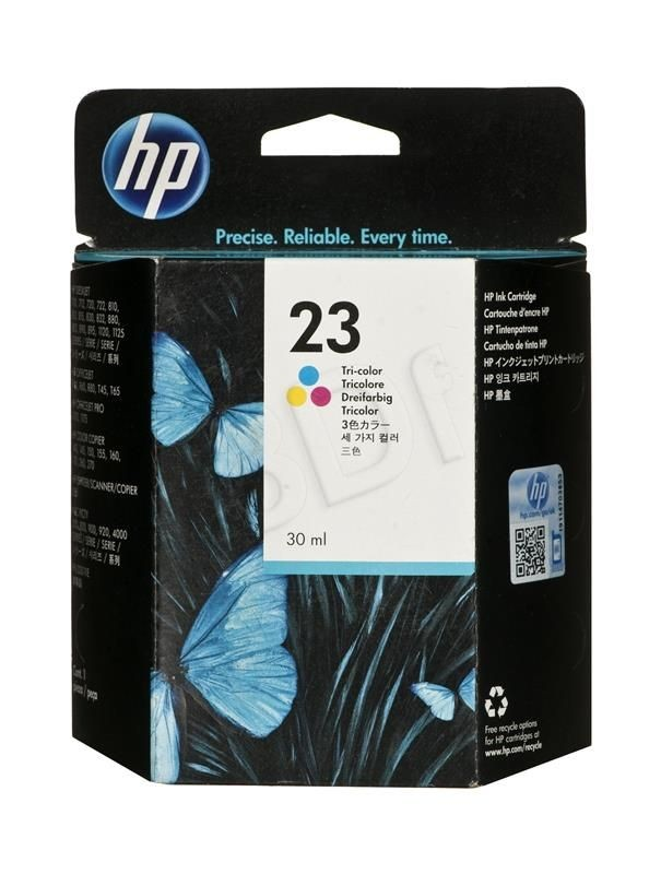HP Tusz Kolor HP23=C1823D 640 str. 30 ml