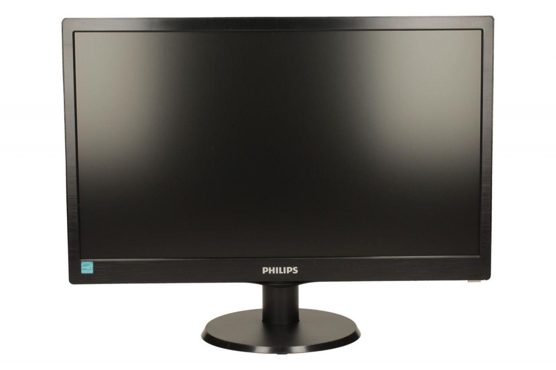Philips Monitor 193V5LSB2/10, 18,5'' EPEAT Silver, ES 6.0, czarny